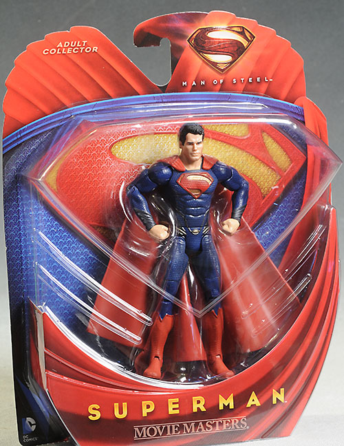 Superman Man of Steel Movie Masters action figure by Mattel