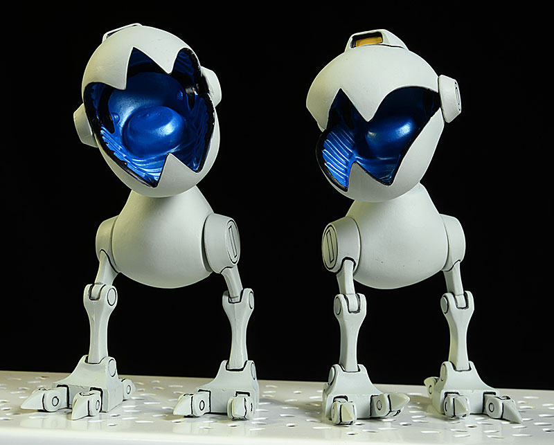 TMNT Mousers 1/6th scale action figures by Mondo