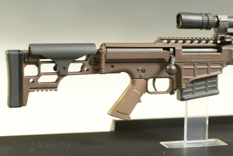 Barrett MRAD sixth scale rifle by MSE