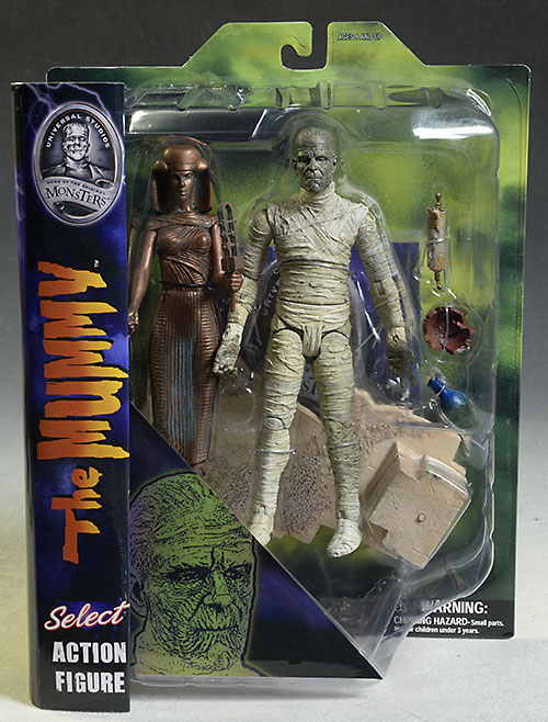 Universal Monsters Mummy deluxe action figure by DST