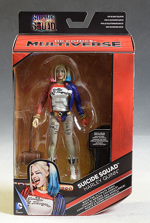 Harley Quinn Suicide Squad Multiverse action figure by Mattel