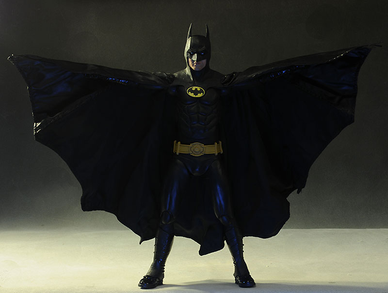 1989 Keaton Batman 1/4 scale action figure by NECA