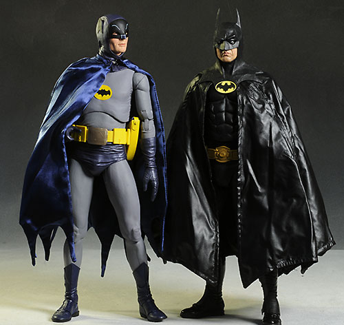 Batman Michael Keation 1980 1/4 scale action figure by NECA