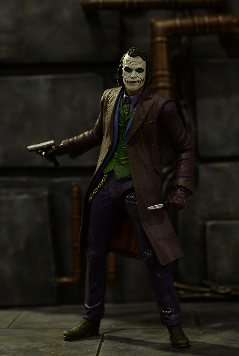 Dark Knight Joker action figure by NECA