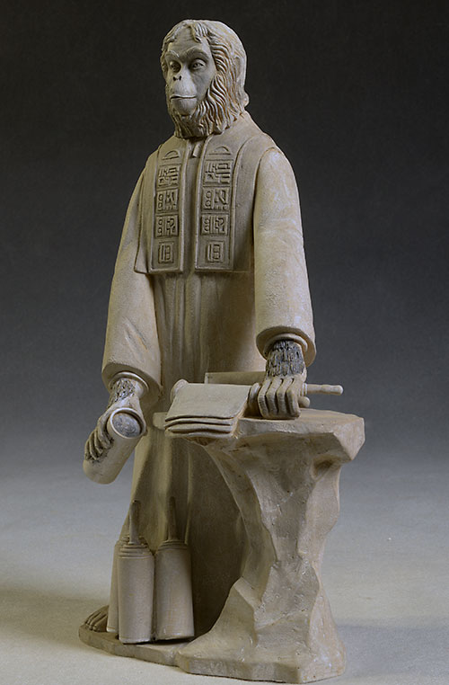 Planet of the Apes Lawgiver statue by NECA