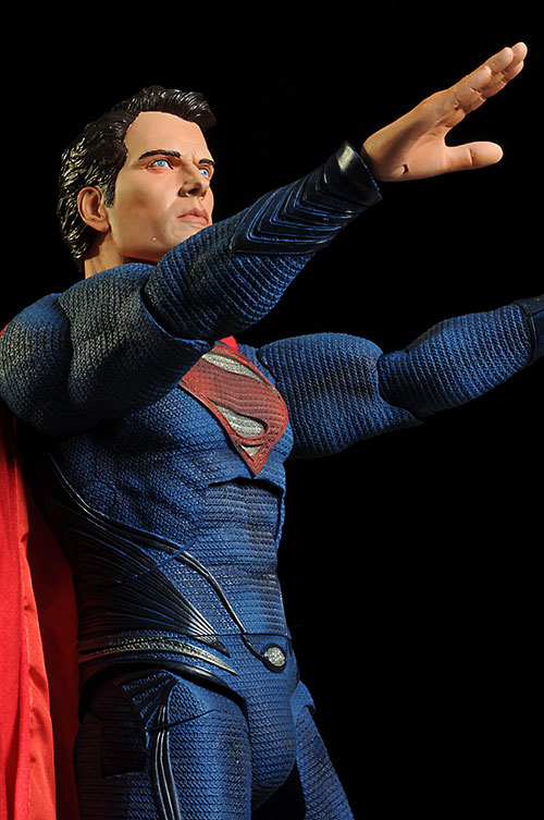 Man of Steel Superman 1/4 scale action figure by NECA