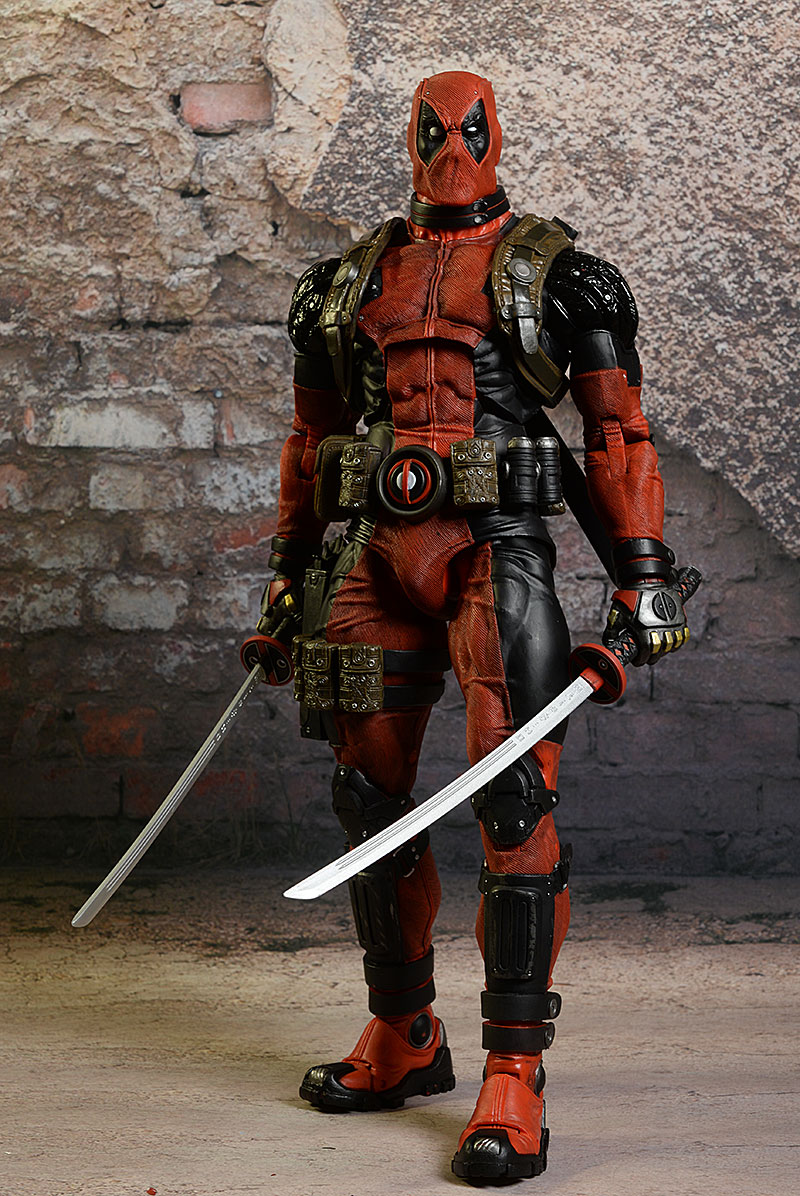Deadpool 1/4 scale action figure by NECA