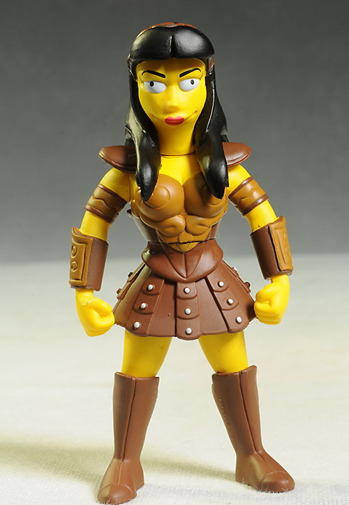 Lucy Lawless Simpsons action figure by NECA