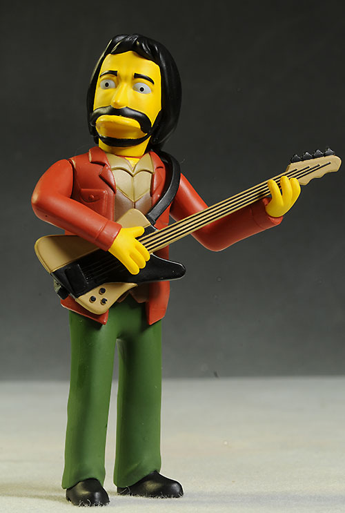 Celebrity Simpsons The Who action figures by NECA