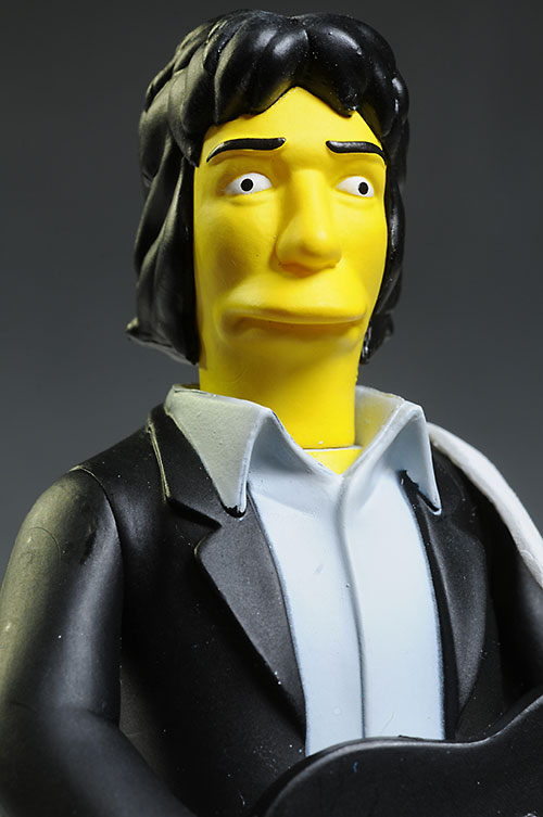 Celebrity Simpsons Nimoy & R.E.M. action figures by NECA