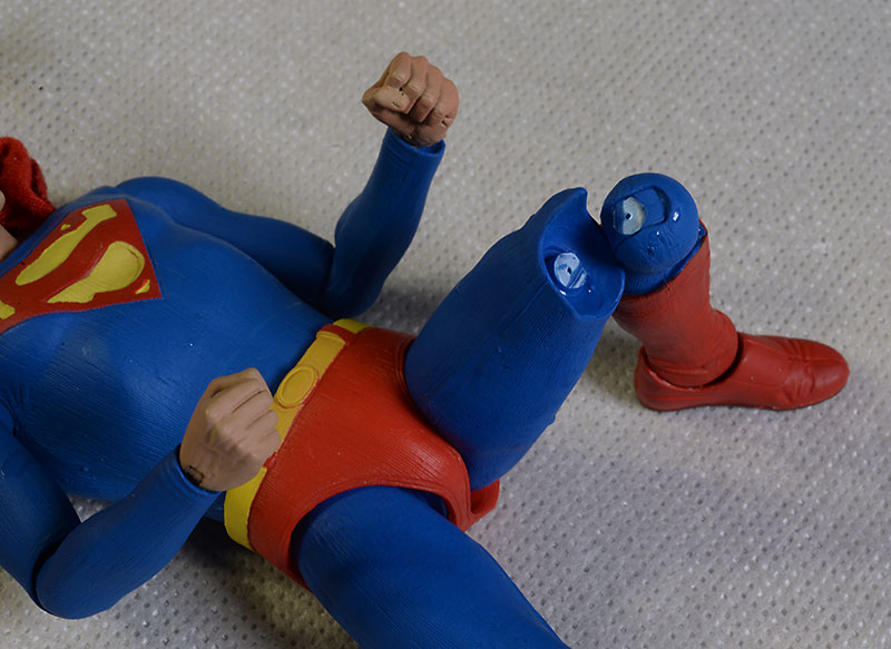 Christopher Reeve Superman action figure by NECA