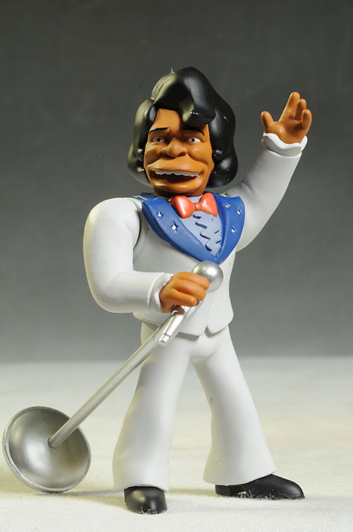 James Brown Simpsons Celebrity action figures by NECA