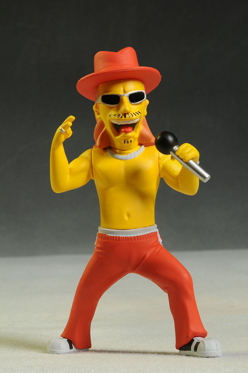 Kid Rock Simpsons Celebrity action figures by NECA