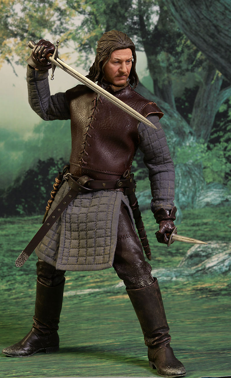Ned Stark Game of Thrones sixth scale figure by ThreeZero