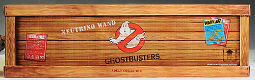 Ghostbusters Neutrino Wand prop replica by Mattel