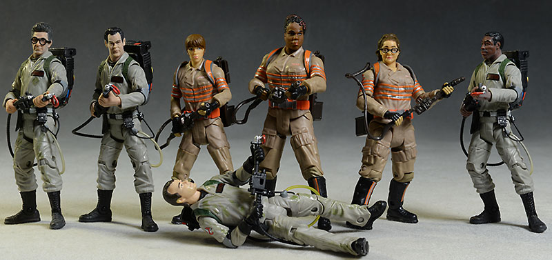Ghostbusters 2016 Erin, Patty, Abby action figure by Mattel