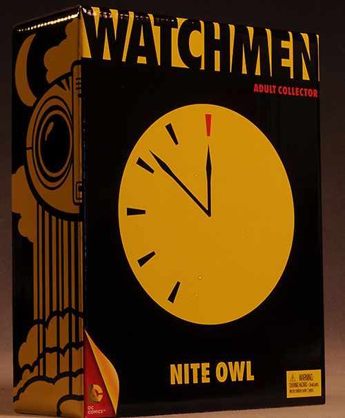 Watchmen Nite Owl action figure by Mattel
