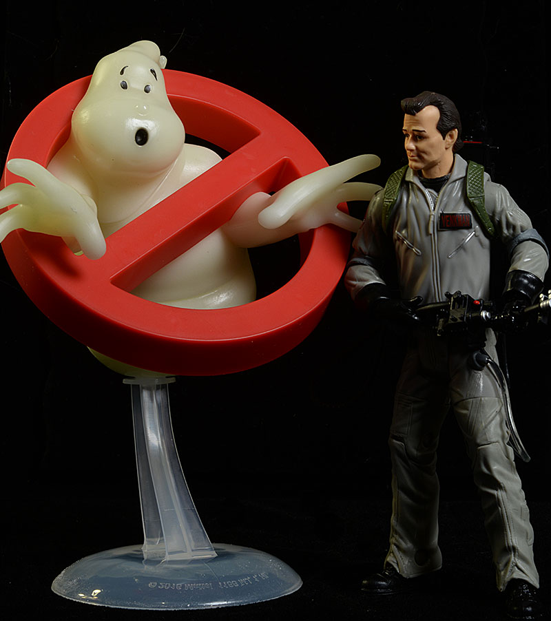 Ghostbusters Venkman, Ghost action figures by Mattel
