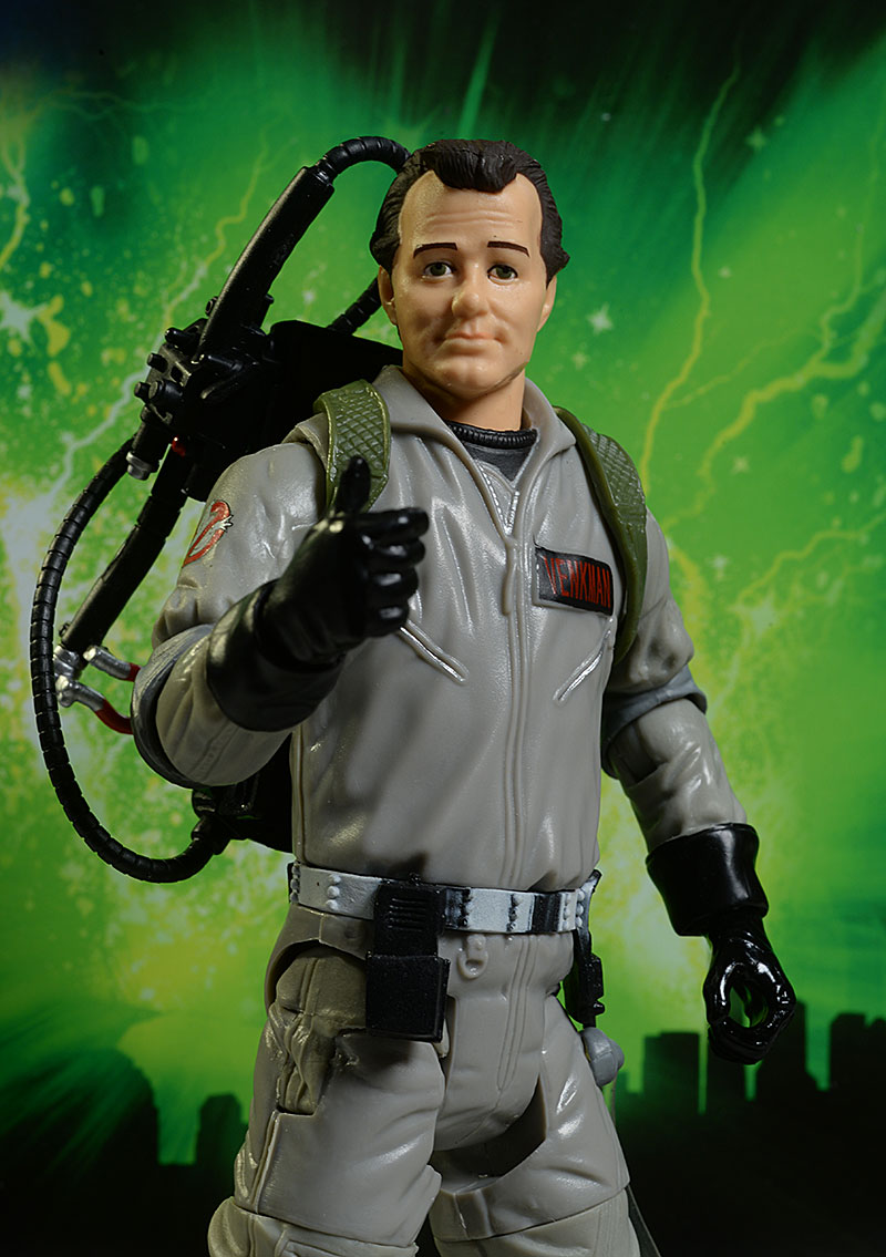 Ghostbusters Venkman action figure by Mattel