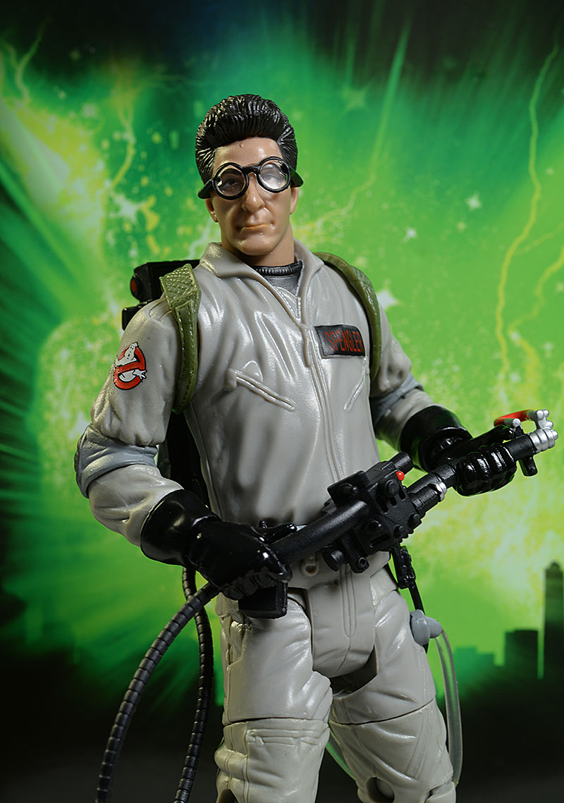 Ghostbusters Spengler action figure by Mattel