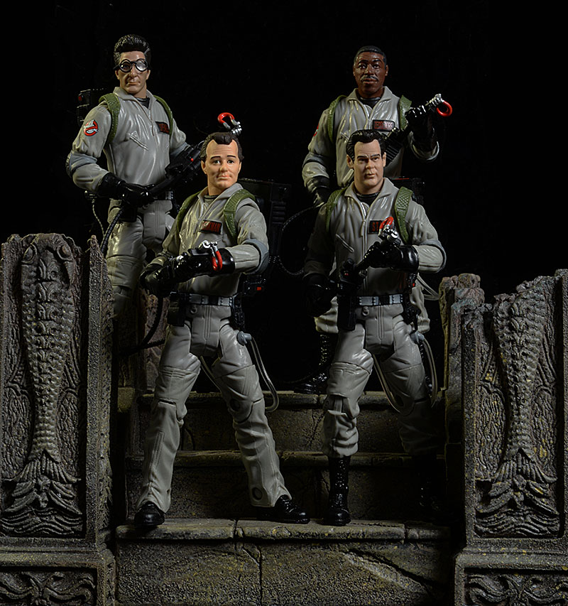Ghostbusters Venkman, Zeddemore, Stantz, Spengler action figures by Mattel