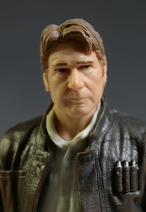 Star Wars Old Han Solo action figure by Hasbro