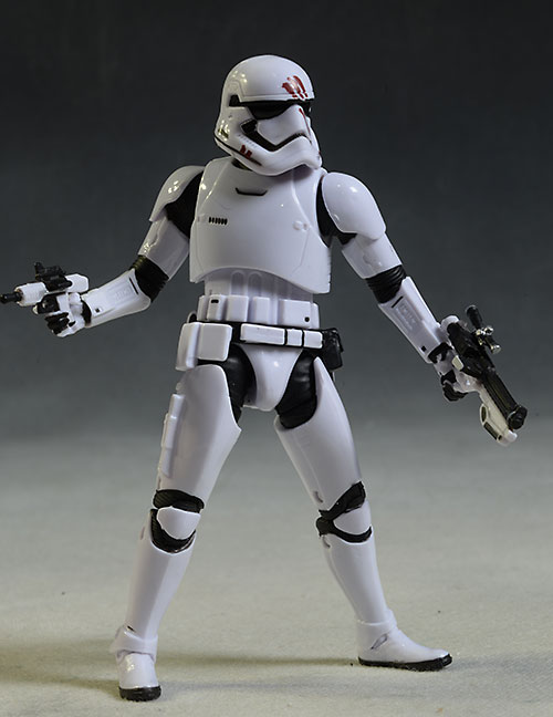 Star Wars Black Trooper Finn action figure by Hasbro