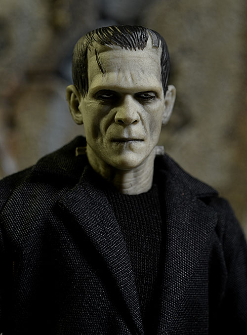 Frankenstein's Monster One:12 Collective action figure by Mezco