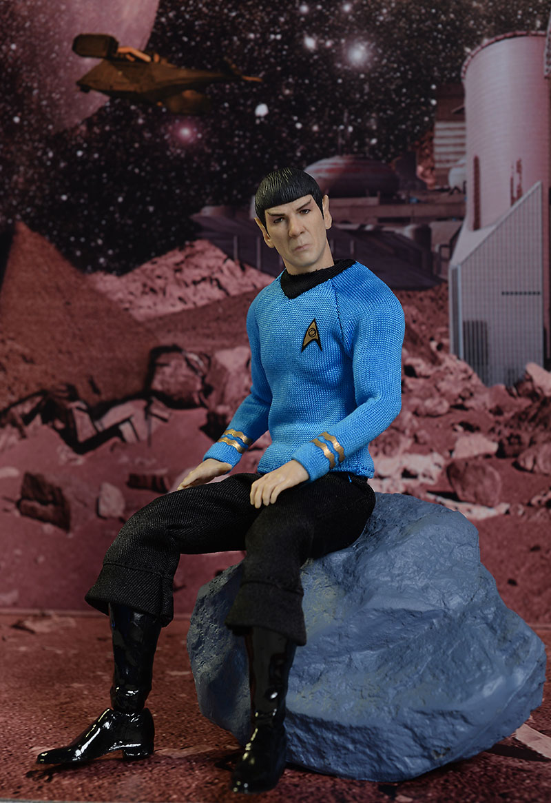 One:12 Collective Trek Spock action figure by Mezco