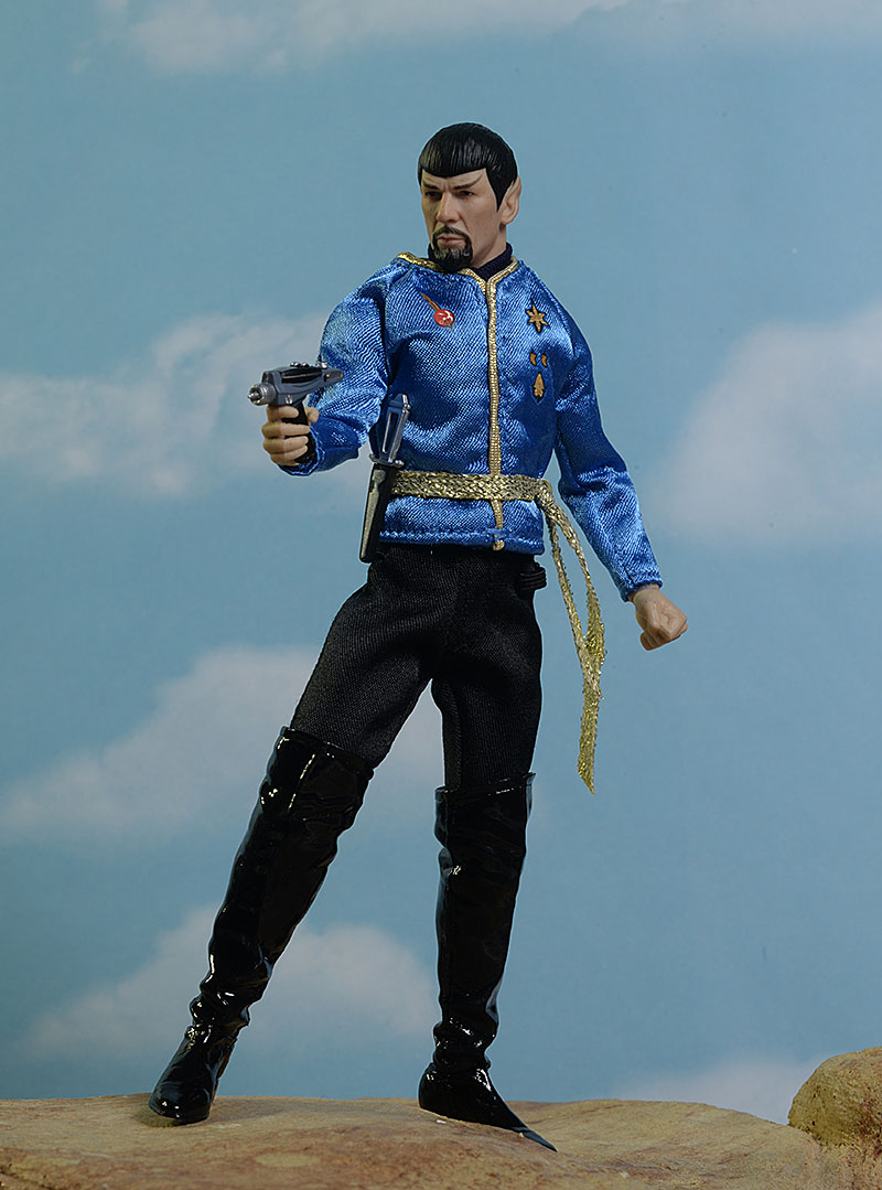 Star Trek One:12 Collective Mirror, Mirror Spock action figure by Mezcoc