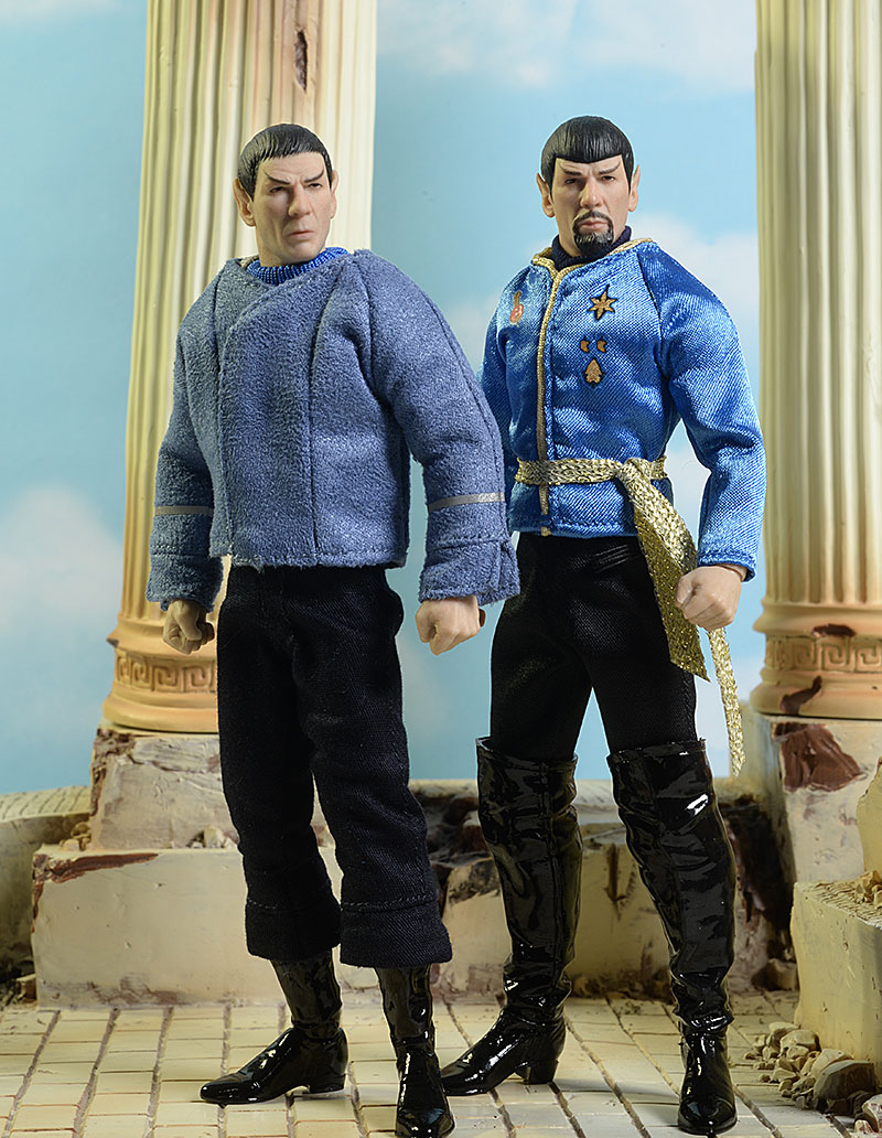 Star Trek One:12 Collective Mirror, Mirror, Cage Spock action figures by Mezcoc