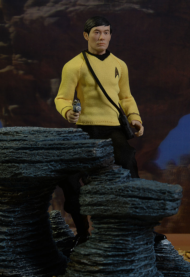 Mr. Sulu Star Trek One:12 Collective action figure by Mezco Toyz