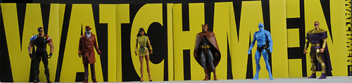 Watchmen Ozymandias action figure by Mattel