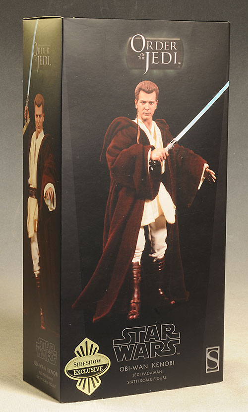 Star Wars Padawan Obi-Wan action figure by Sideshow