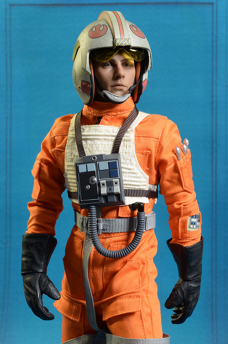 Star Wars X-Wing Pilot Luke sixth scale figure by Sideshow