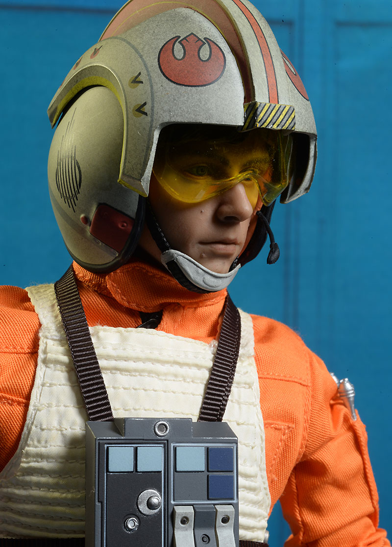 Star Wars X,Wing Pilot Luke sixth scale figure by Sideshow