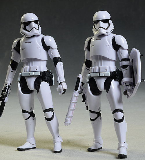 Star Wars Target Exclusive Poe, Riot Trooper figures by Hasbro