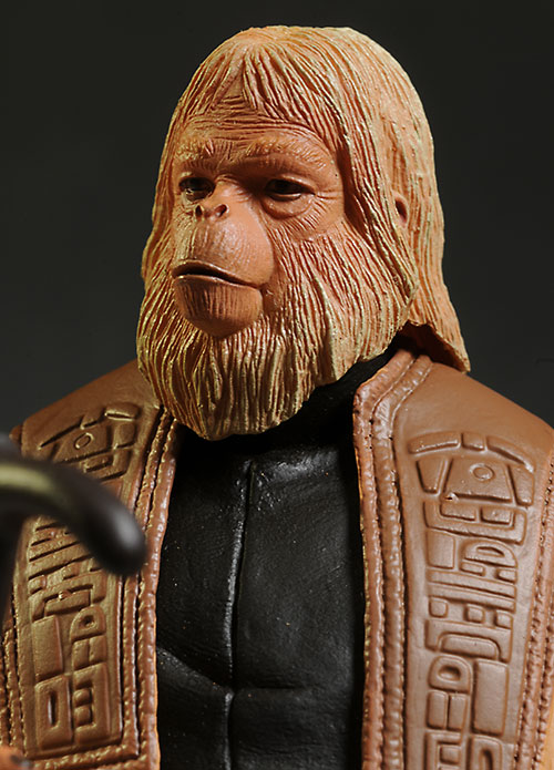Planet of the Apes Zaius, Zira, Ursus action figures by NECA