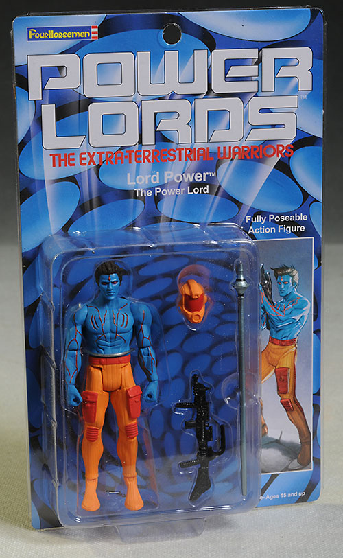 Power Lords action figures by the Four Horsemen