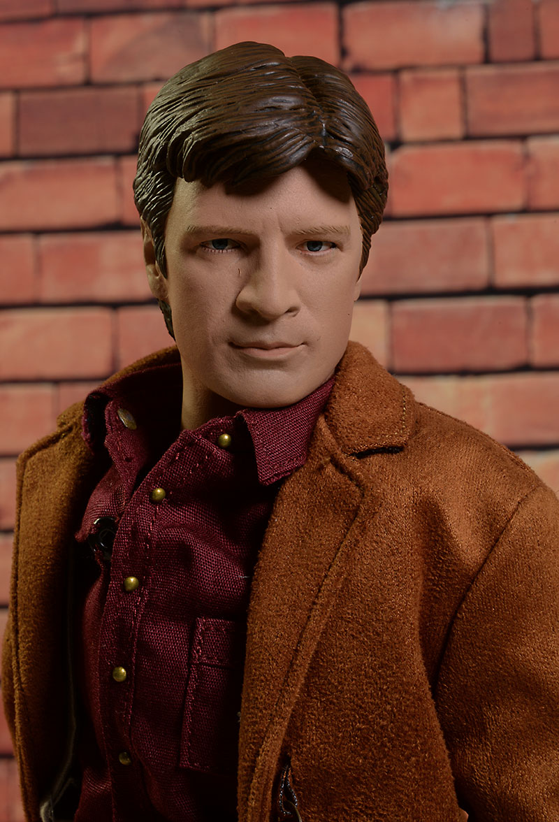 Firefly Malcolm Reynolds sixth scale action figure by Qmx