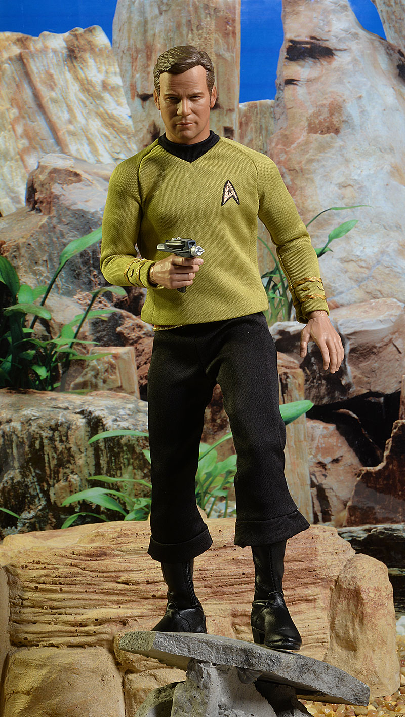 Star Trek Captain Kirk sixth scale action figure by Qmx