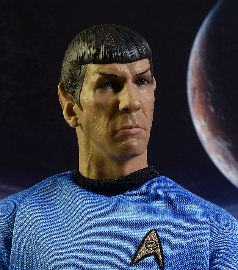 Star Trek Mr. Spock sixth scale action figure by Qmx