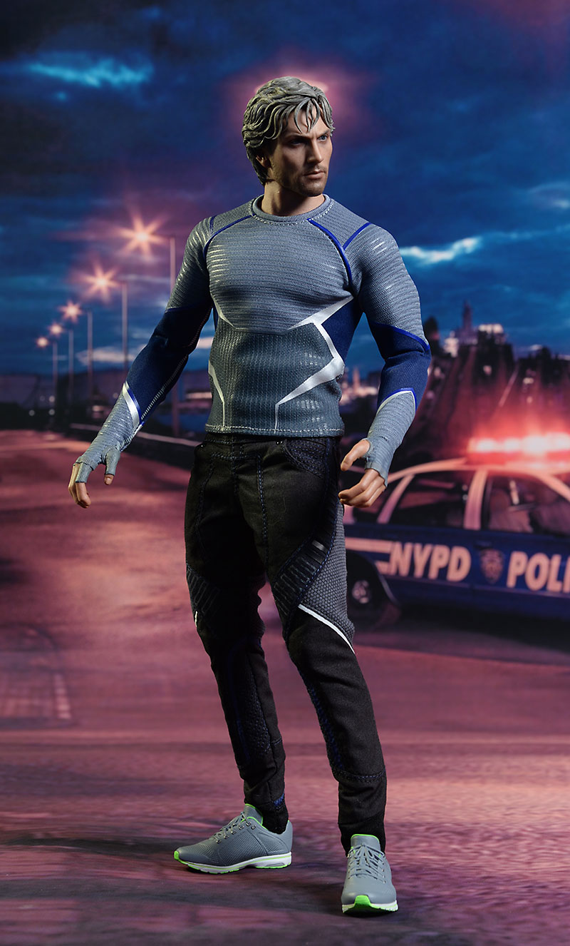 Avengers Quicksilver 1/6th action figure by Hot Toys