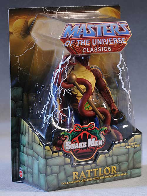 MOTUC Rattlor action figure by Mattel