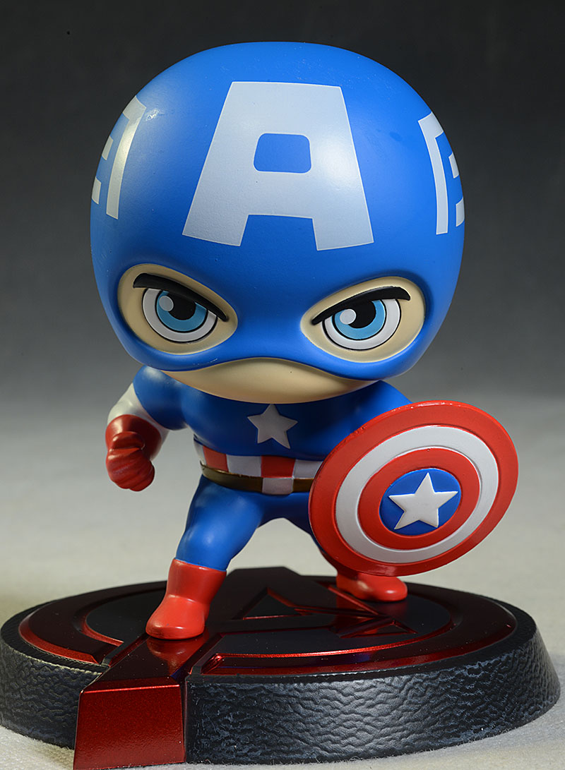 Captain America Hero Remix bobblehead by Dragon