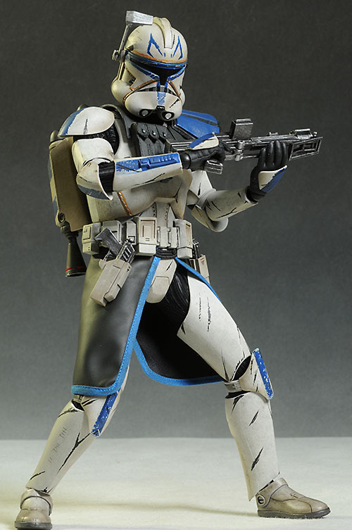 Captain Rex Star Wars 501st action figure by Sideshow