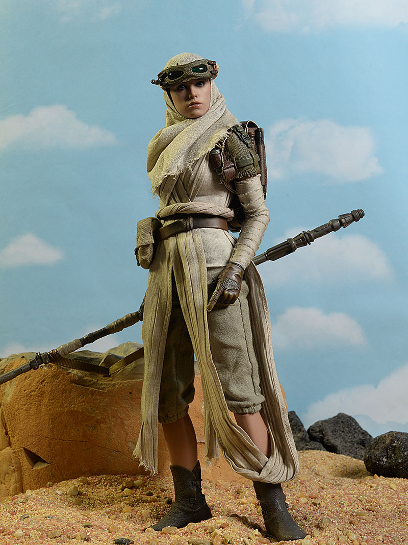 Hot Toys Star Wars Rey action figure