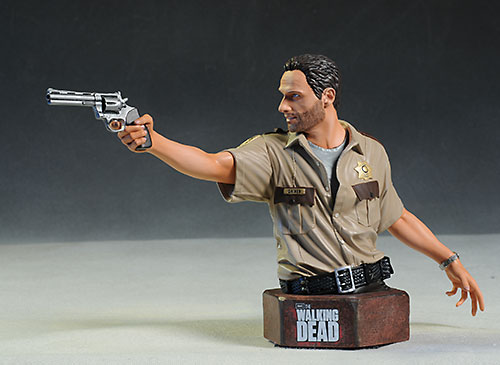 Walking Dead Rick Grimes mini-bust by Gentle Giant