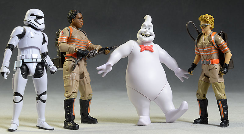 Ghostbusters Rowan, Rowan BAF, Jillian action figures by Mattel