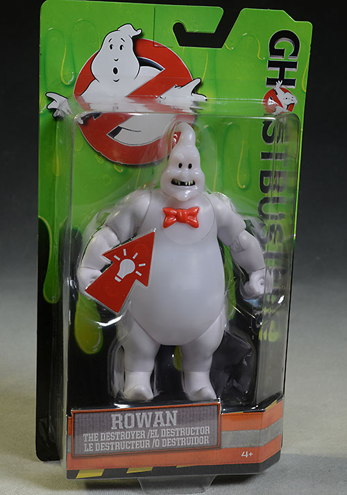Ghostbusters Rowan ghost action figures by Mattel